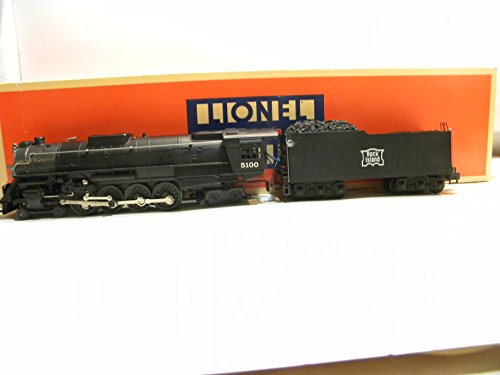 Lionel 18001 Rock Island 4-8-4 Die-cast Steam Locomotive & Tender O Gauge