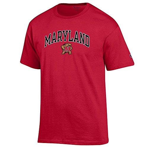 (Elite Fan Shop Maryland Terrapins Tshirt Varsity Red -)