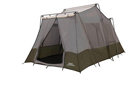 Trek Tents 237 Two Room Cabin Tent 8 X 13 Feet Grey