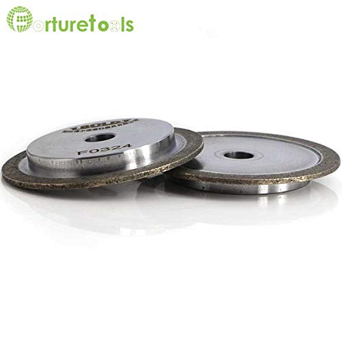 Maslin 1 piece diamond dressing wheel rotary dresser for vitrified CBN grinding wheel reconditioning