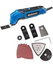 Mastercraft 2.2A Oscillating Multi-Crafter Tool with 11 Piece Accessory Kit