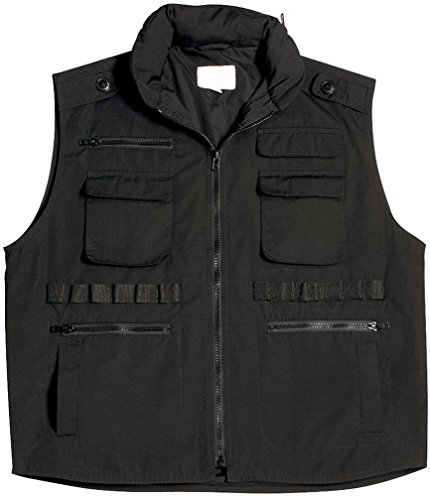 - Rothco Kids Ranger Vest, Black, X-Small