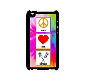 For LG G3 Case Cover Thinshell Case Protective For LG G3 Case Cover Shawnex Love Peace Lacrosse