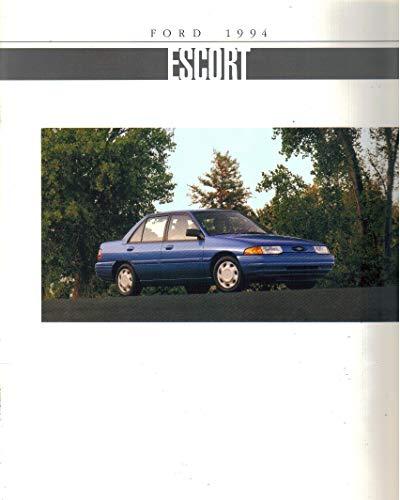 1994 Dealer Sales Brochure for Ford Escort, Escort LX, Escort GT