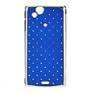 Diamond Look Hard Protective Case for Sony X12 (Optional Colors) --- COLOR:Purple