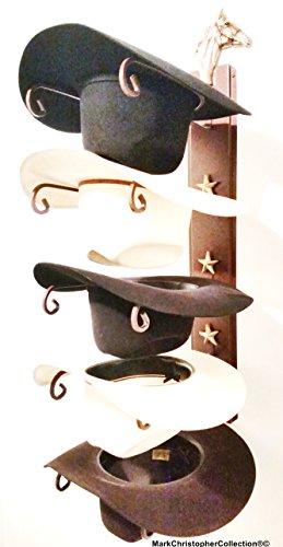 Horse Head Hat (American Made Cowboy Hat Holder STAR 665 Horse head)