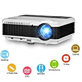 """EUG 5.8"""" TFT 3600 Lumens Portable Hd Projector Full 3d LCD Home Theater"""