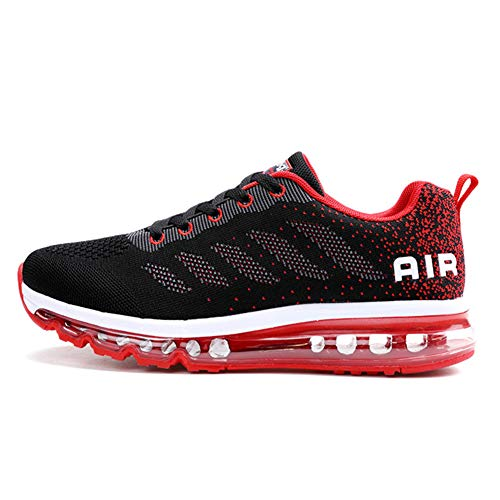 TORISKY Womens Mens Walking Casual Shoes Air Cushion Running Jogging Gym Sports Sneakers(833-RD45)
