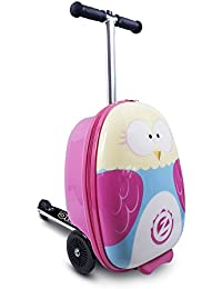 "Flyte ZC03909 Kid's Luggage Scooter 18"" - Olivia The Owl, one Size, Pink"