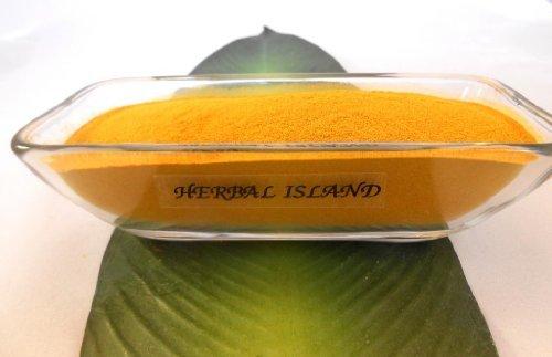 Tumeric Root Powder 1 Lb or 16 Oz (Turmeric - Curcuma Longa) Free Shipping by Herbal Island