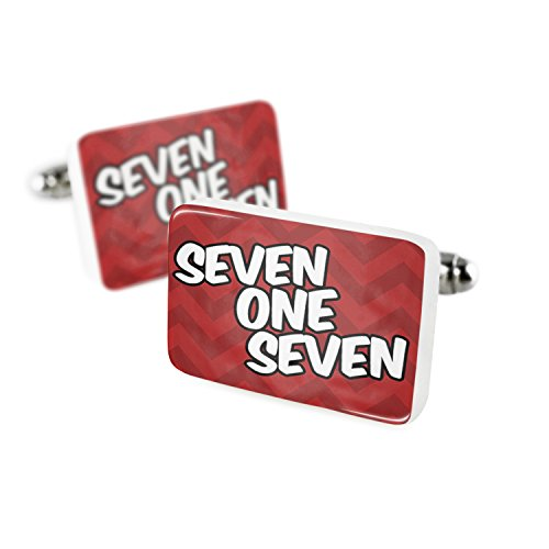 - Cufflinks 717 Lancaster, PA red Porcelain Ceramic NEONBLOND