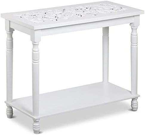 Topeakmart White Console Tables