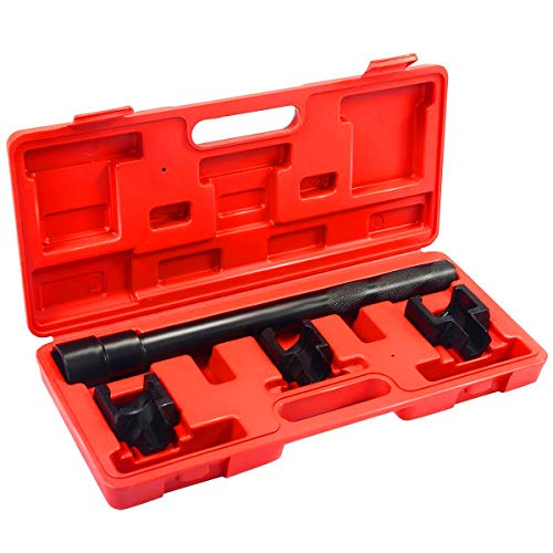 Goplus Inner Tie Rod Removal Installation Tool Set Mechanics Dual Tie Rod Adjusting Tool Kit