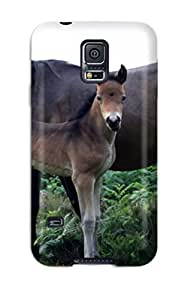 Galaxy S5 Case Slim [ultra Fit] Mare And Foal Protective Case Cover