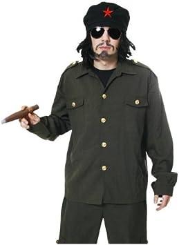 CHE GUEVARA FREEDOM FIGHTER MALE FANCY DRESS COSTUME (disfraz): Amazon.es: Juguetes y juegos