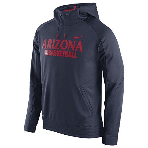 Arizona Wildcats Basketball Nike Therma-Fit Performance Hoodie Sweatshirt (Medium) (Nike Arizona Wildcats)