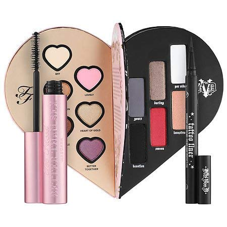 Too Faced x Kat Von D ~ Better Together Ultimate Eye Collection ~ Limited Edition [並行輸入品] B07TTPW4D8