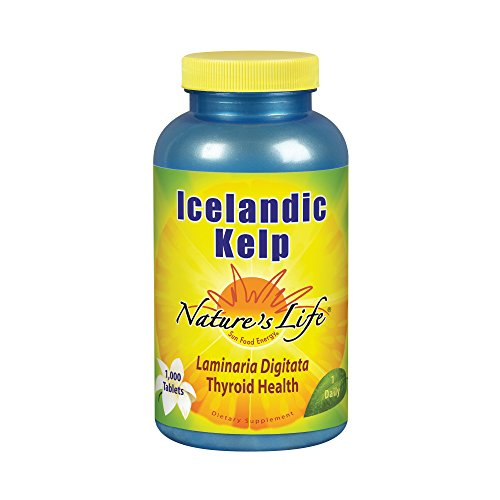 (Nature's Life Kelp Tablets, Icelandic, 41 Mg, 1000 Count )