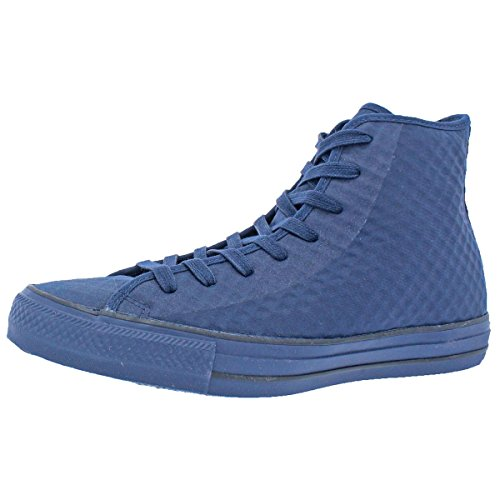 Converse Mens High Top Casual Fashion Sneakers Navy 8 Medium (D)