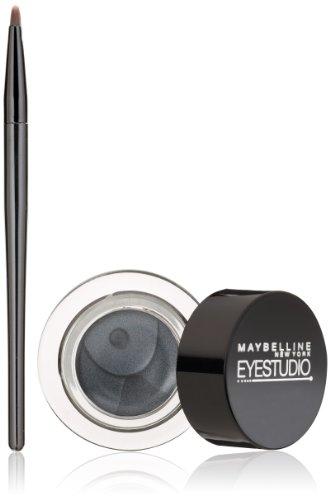 Maybelline Makeup Eyestudio Lasting Drama Gel Eye Liner, Charcoal, Waterproof, 0.106 oz