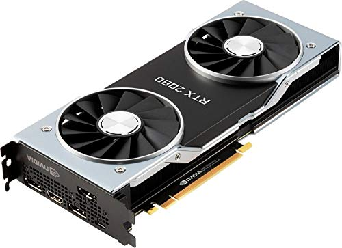 NVIDIA GeForce RTX 2080 Founders Edition 8GB GDDR6 PCI Express 3.0 Graphics Card with Free Battlefield V Combo