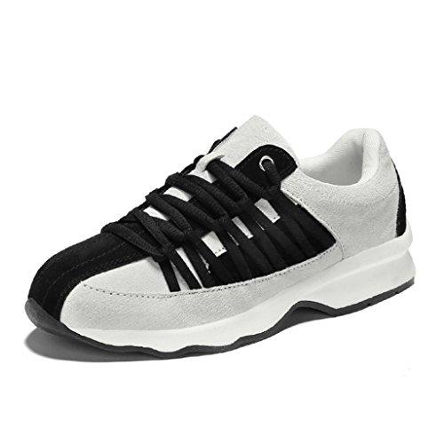 HWF Zapatos para mujer Spring Sports Mujer Running Casual Plate Zapatos Mujer ( Color : Negro , Tamaño : 36 ) Negro
