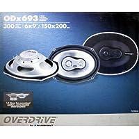 OVERDRIVE ODx693 3-Way 6x9 Coaxial Ultrathin Speaker