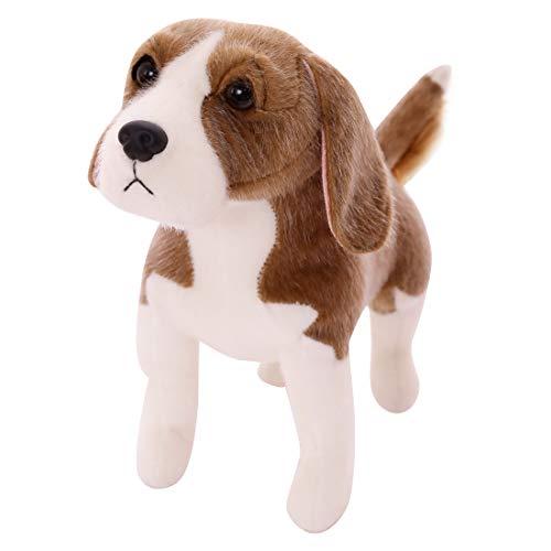 wakey puppy Realistic Stuffed Animal Beagle Dog Simulation Lifelike Plush Toy