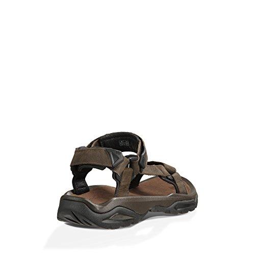 Uomo sportivi Leather Teva M's Sandali 4 Caff Fi Terra v11wqgAF