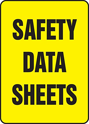 Safety Data Sheets Accuform Signs