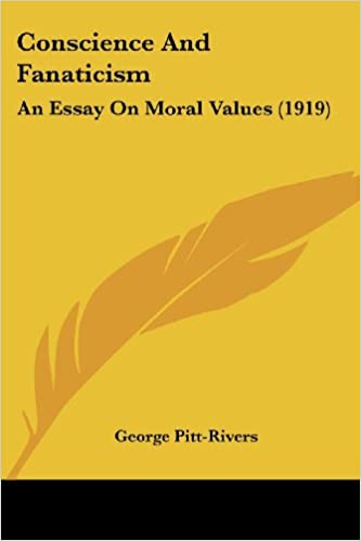 Amazoncom Conscience And Fanaticism An Essay On Moral Values  Conscience And Fanaticism An Essay On Moral Values