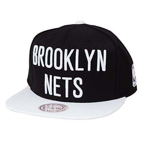 6f7751387b7 Mitchell And Ness Brooklyn Nets Nba Snapback Cap