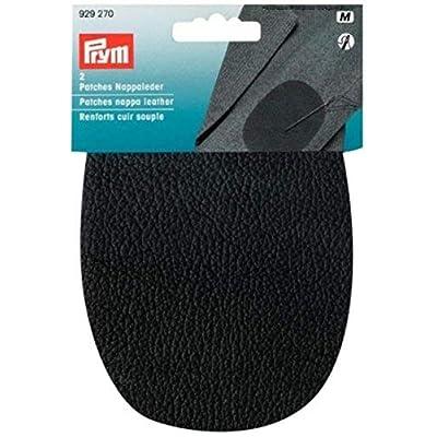 Prym Nappa Leather Patches, Black, 10 x 14 cm - Medium: Home & Kitchen