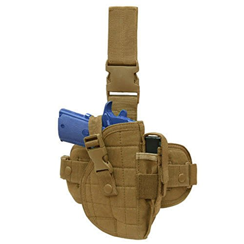 (Condor Tactical Universal Leg Holster - Coyote - ULH-498 - New)