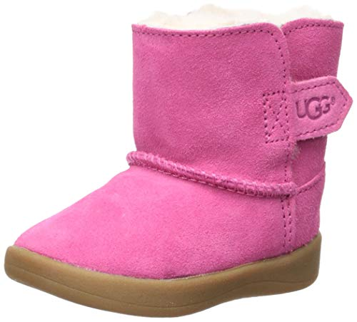 UGG Girls' I Keelan Fashion Boot, Pink Azalea, 0/1 M US Infant -