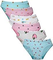 Closecret Kids Soft Cotton Toddler Panties Little Girls' Assorted Briefs(Multi-P