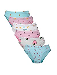 Closecret Kids Soft Cotton Toddler Panties Little Girls' Assorted Briefs(Multi-Pack)