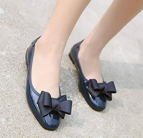 Cuir Blue Slip Ballerines Loafer Qzx Noir Pointure Beige Mocassins Chaussures Chaussons Ballet Large on Femme Plats Casual Soft De PxXUHqpU