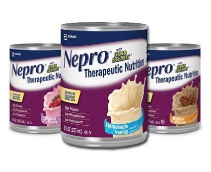 Nepro with Carb Steady Variety Pack 24 8 oz. Containers (Homemade Vanilla, Mixed Berry, Butter Pecan)