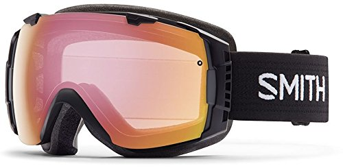 Smith Optics I/O Adult Interchangable Series Snocross Snowmobile Goggles Eyewear - Black / Photochromic Red Sensor / Medium by Smith