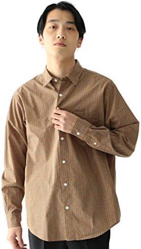 /カジュアルシャツ タイプライター ネオルーズ チェック シャツ メンズ