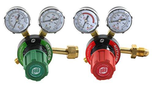 Top Gas Welding Gas Regulators