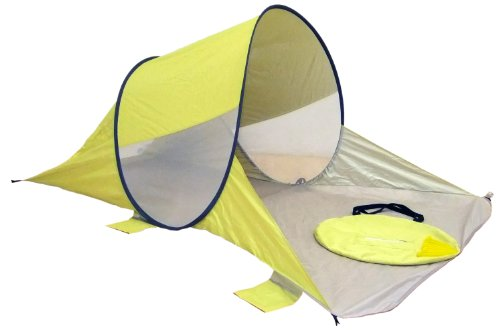 Genji Sports Anti-UV Ultra Light Pop Up Sun Shelter, Apple Green