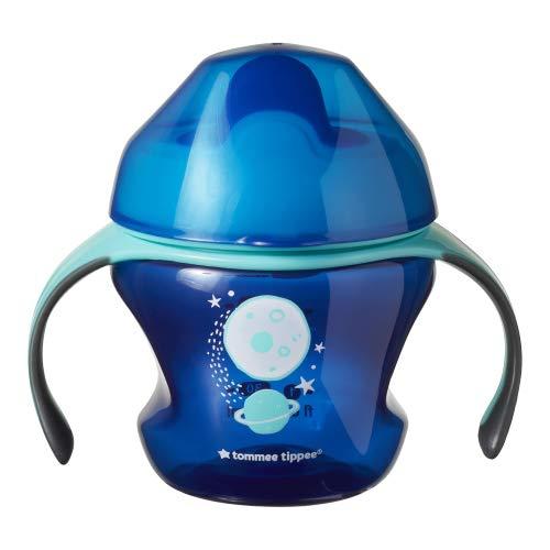 Tommee Tippee Taza para beber sin BPA edad 4 meses + planeta azul