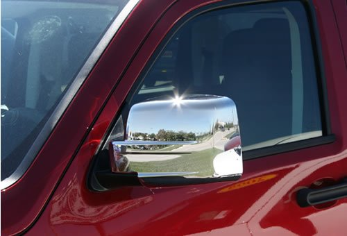 Buy chrome mirror cover 08 dodge nitro