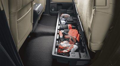 Toyota Tundra Under Seat Storage - Genuine 2007 - 2013 Toyota Tundra Under Seat Storage