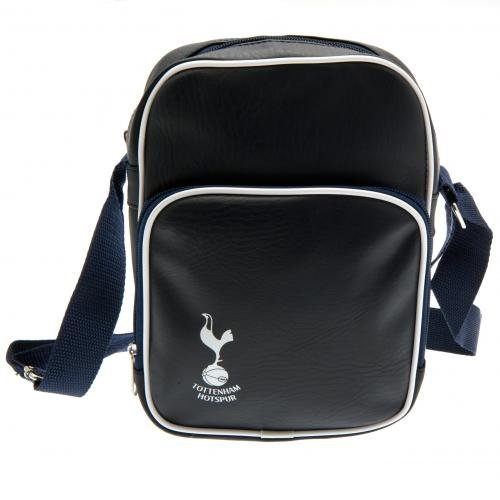 Tottenham Hotspur Football Club Official Small Navy Shoulder Bag Crest Badge