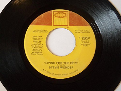 """Price comparison product image Living For The City / Visions 7"""" 45"""