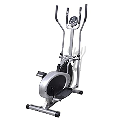 Anself Elliptical Trainer with Seat for Home Gym