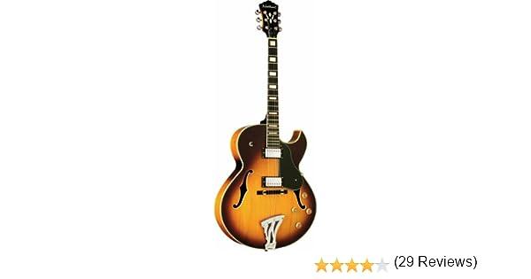 Washburn J3TSK - Guitarra eléctrica (tipo sunburst): Amazon.es: Instrumentos musicales